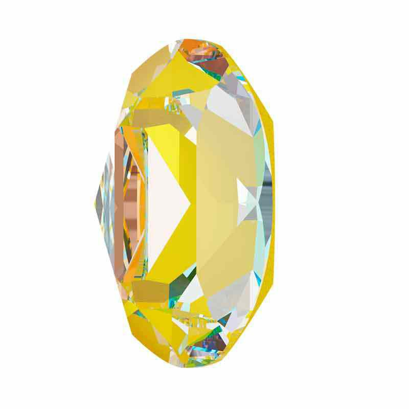 14x10mm Sunshine DeLite Oval Fancy Stone 4120 Swarovski