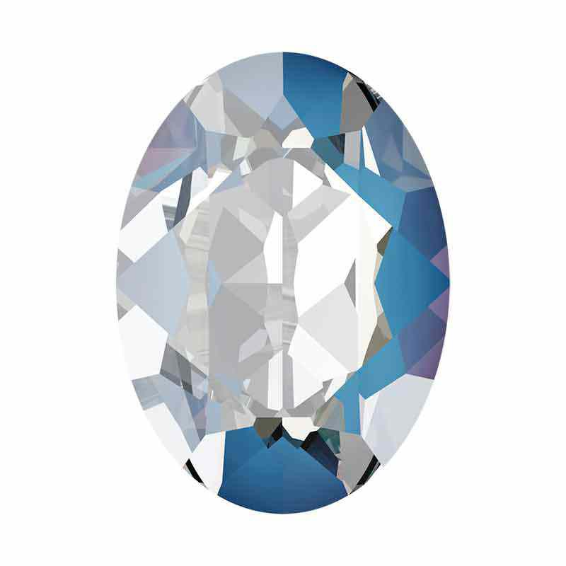 18x13mm Ocean DeLite Oval Fancy Stone 4120 Swarovski