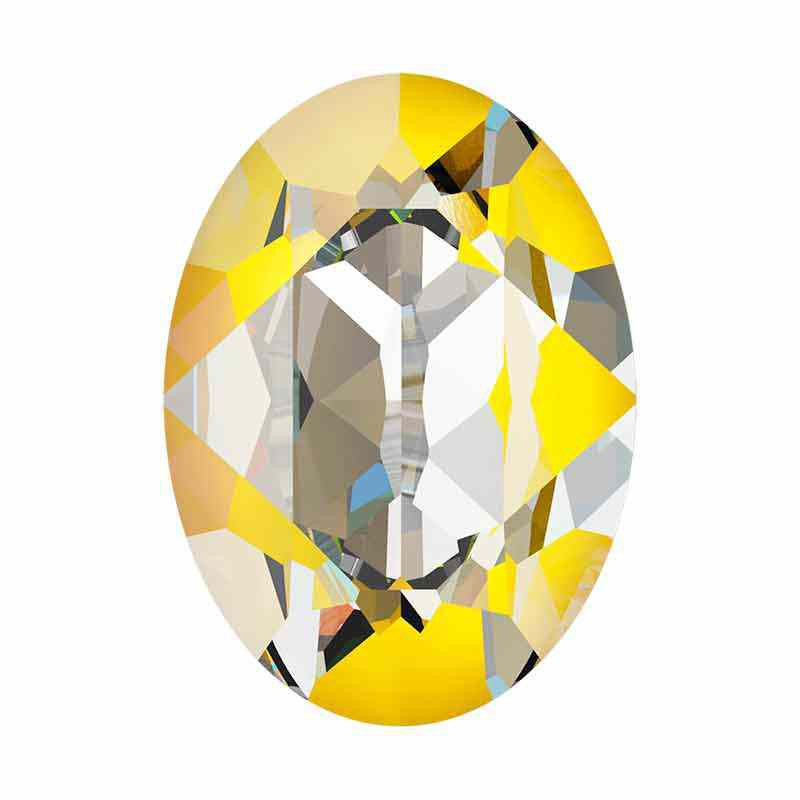 18x13mm Sunshine DeLite Oval Ehete Kristall 4120 Swarovski