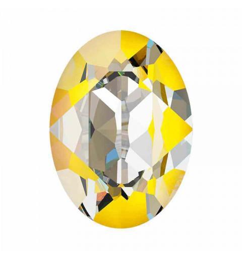 18x13mm Sunshine DeLite Oval Fancy Stone 4120 Swarovski