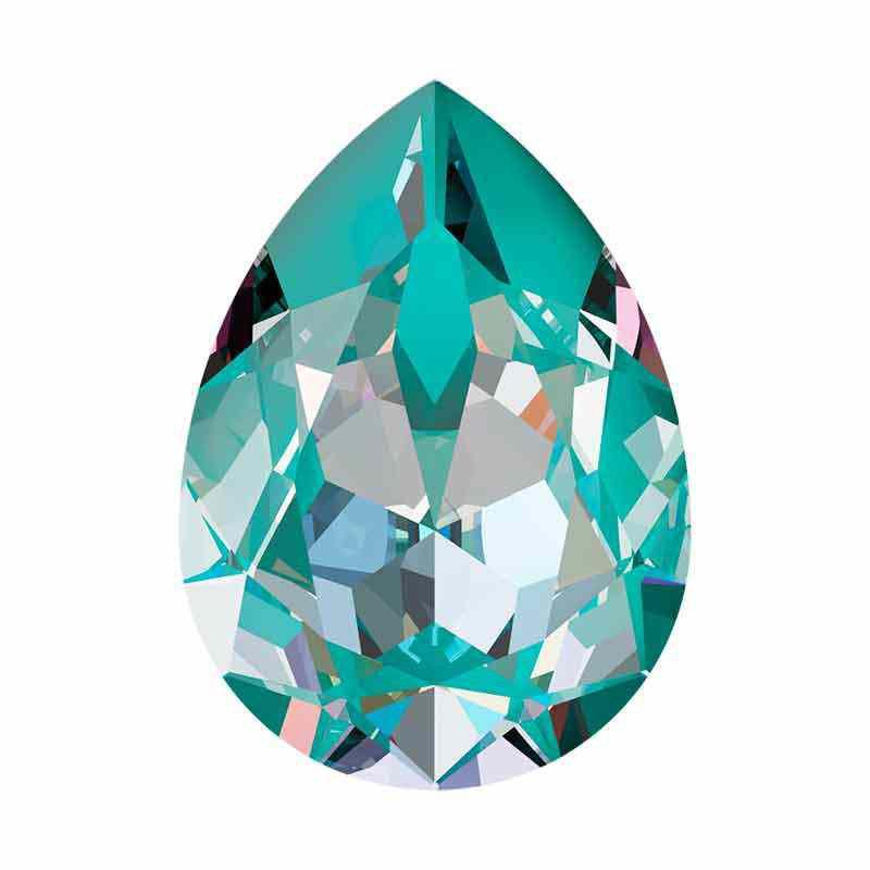 14x10mm Laguna DeLite Poire Fancy Cristal 4320 de Swarovski Cristal