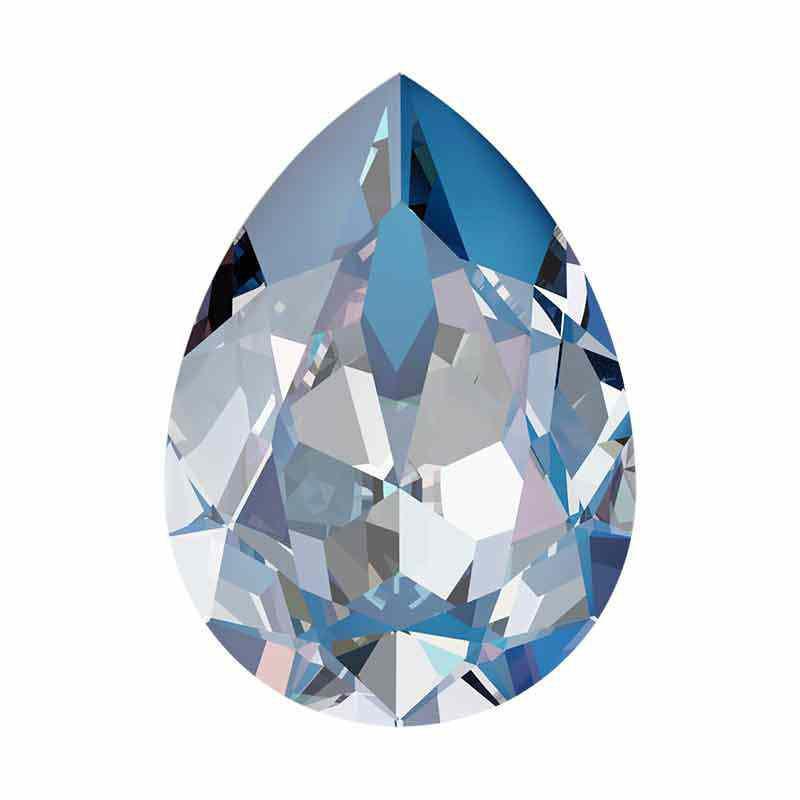 14x10mm Ocean DeLite Pear-Shaped Fancy Stone 4320 Swarovski Crystal