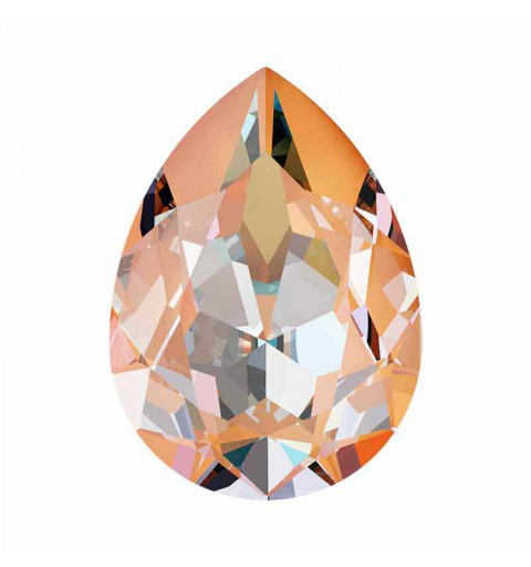 14x10mm Peach DeLite Poire Fancy Cristal 4320 de Swarovski Cristal