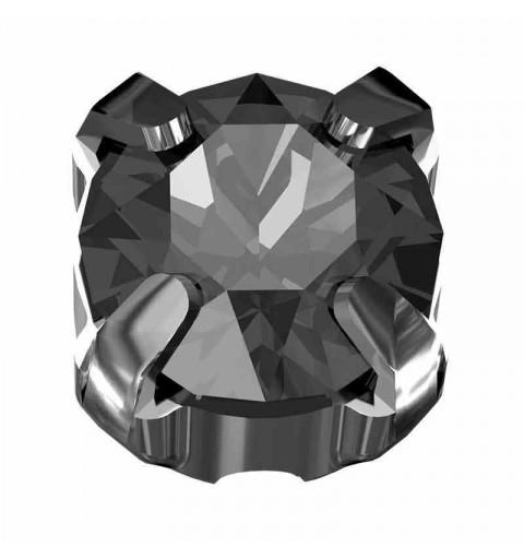 PP31 Crystal Silver Night F Silver Brushed 53200 Chaton Montees Swarovski