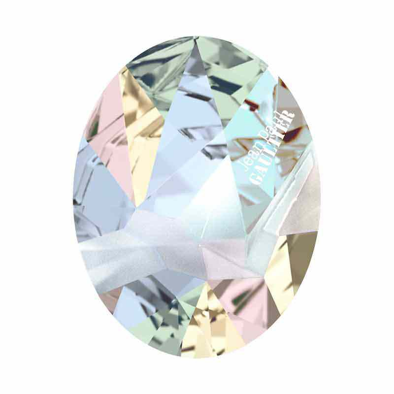 29x22.5mm Crystal AB F Ovaalne Kaputt 4920 Swarovski