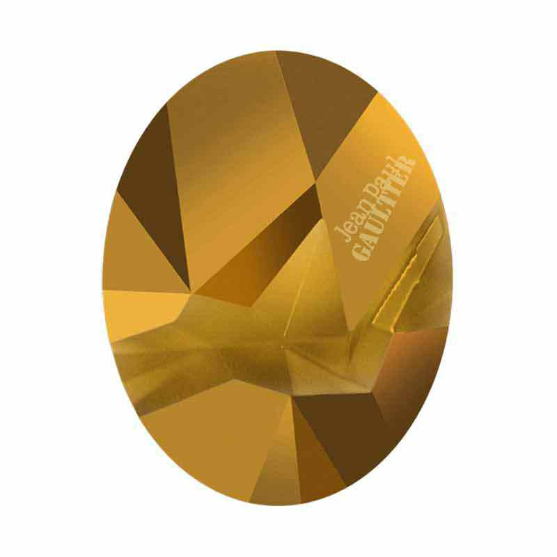 29x22.5mm Dorado F Ovale Kaputt 4920 de Swarovski