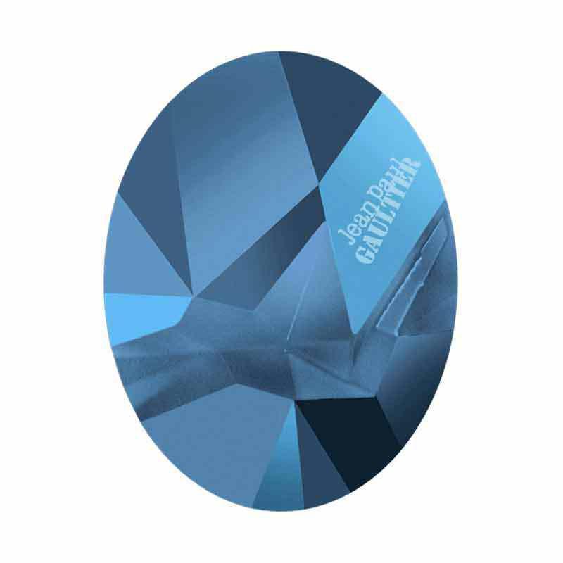 29x22.5mm Metallic Blue F Ovale Kaputt 4920 de Swarovski