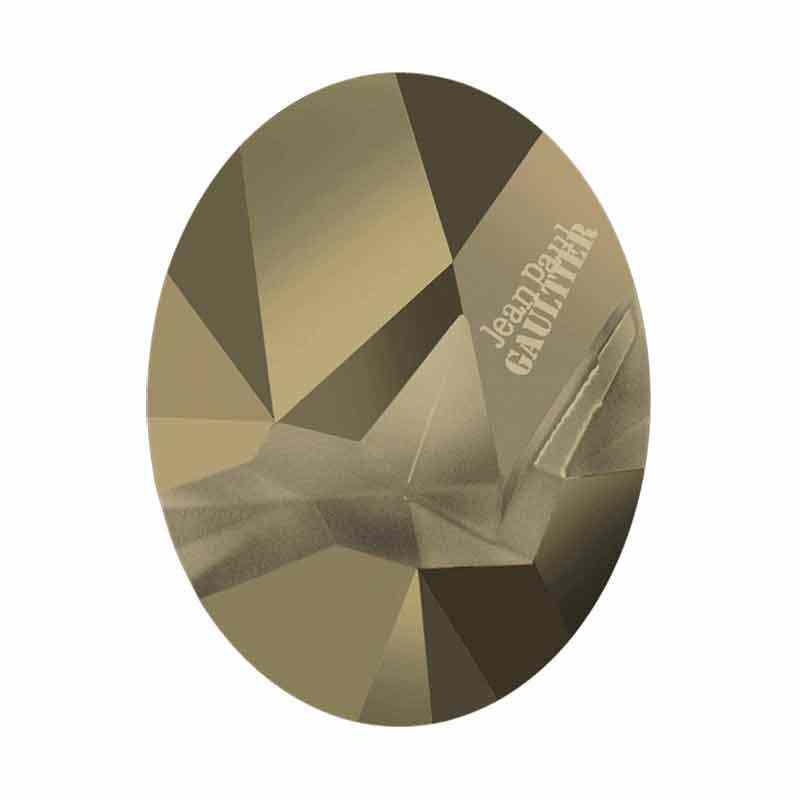29x22.5mm Metallic Lt Gold F Oval Kaputt 4920 Swarovski