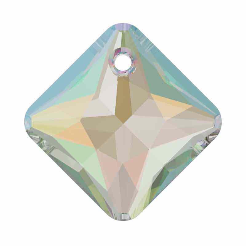 16MM Crystal AB Princess Cut Ripatsid 6431 SWAROVSKI