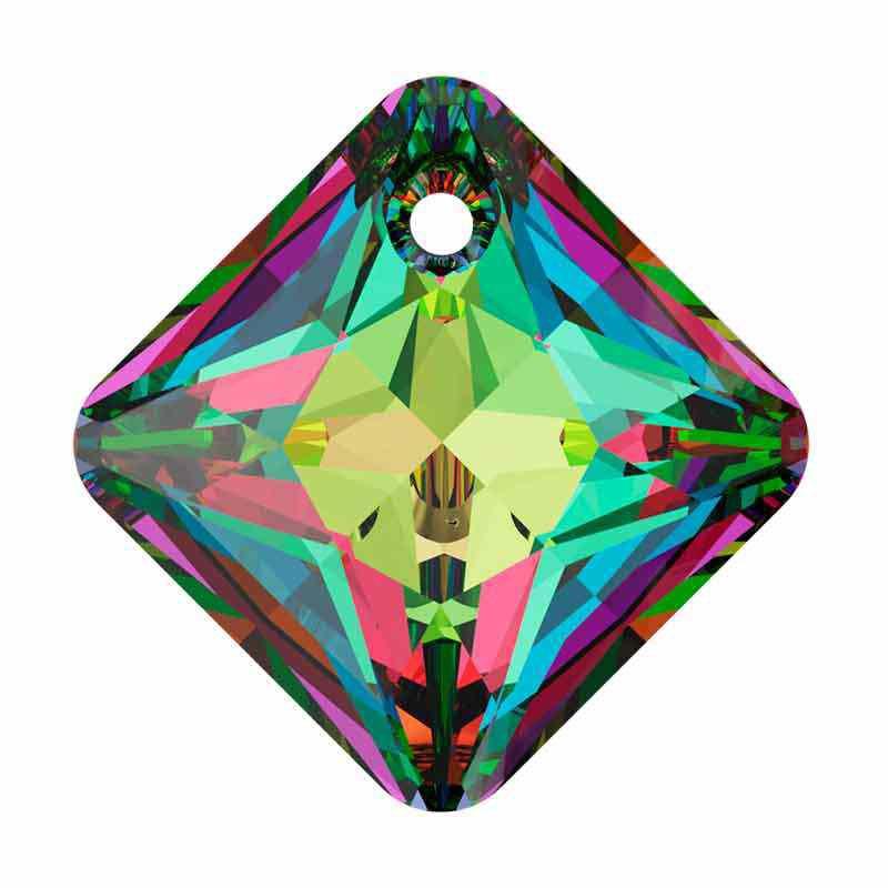 16MM Crystal Vitrail Medium Princess Cut Ripatsid 6431 SWAROVSKI