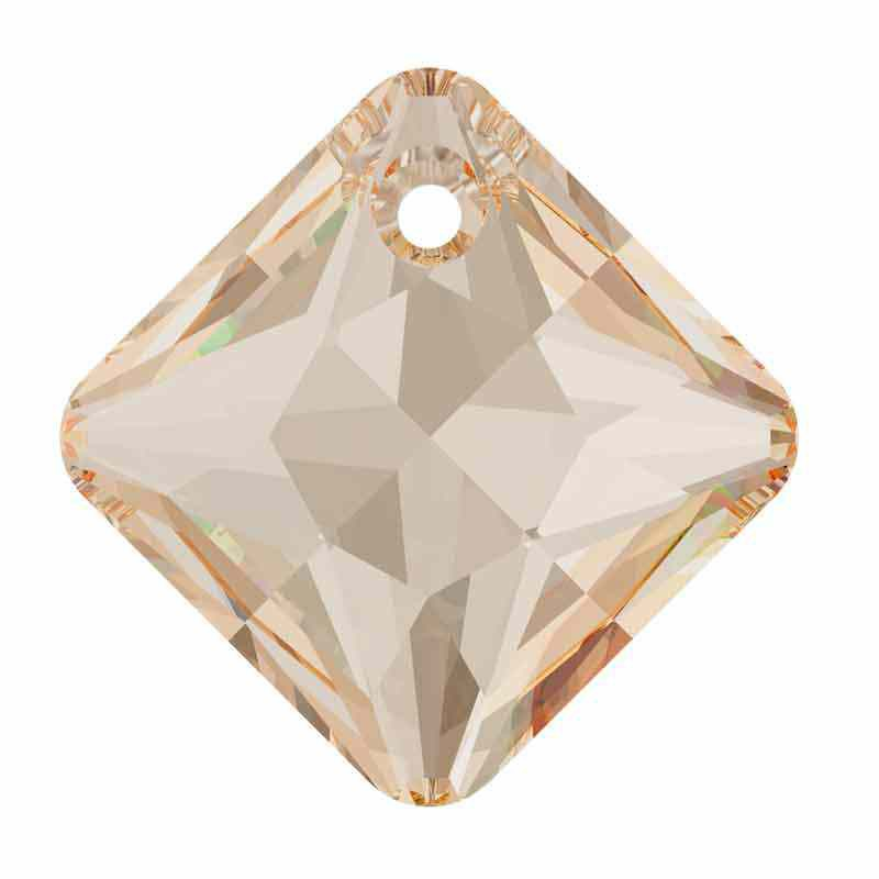 16MM Crystal Golden Shadow Princess Cut Ripatsid 6431 SWAROVSKI