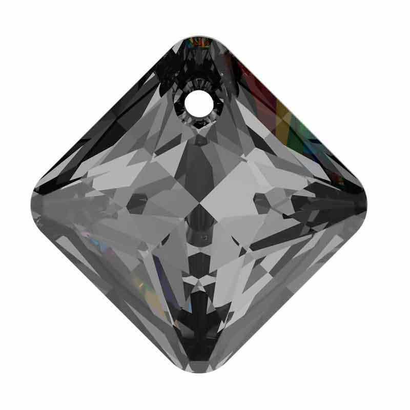 16MM Crystal Silver Night Princess Cut Ripatsid 6431 SWAROVSKI