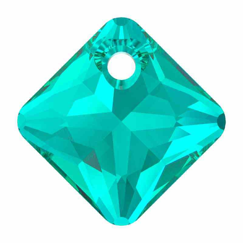 16MM Emerald Princess Cut Pendant 6431 SWAROVSKI