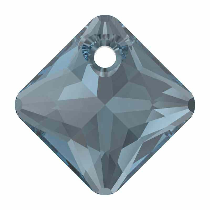 16MM Montana Princess Cut Pendant 6431 SWAROVSKI