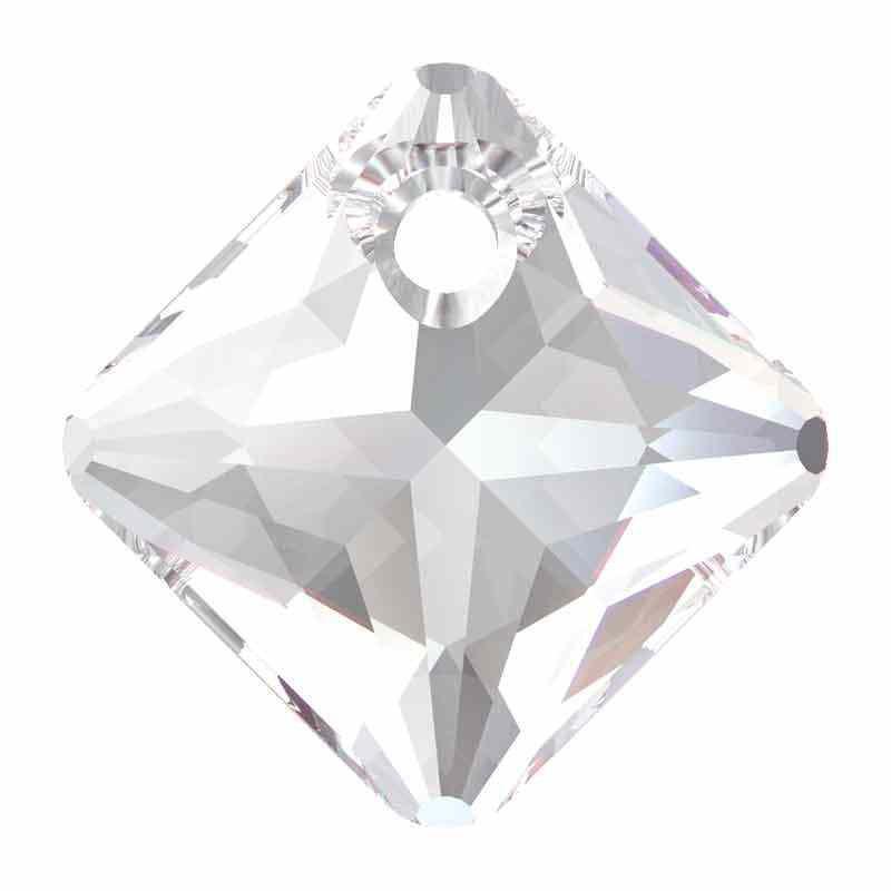16MM Crystal Princess Cut de Pendentif 6431 SWAROVSKI
