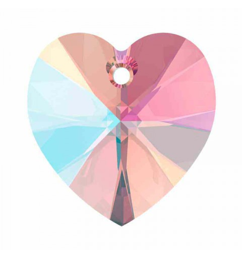 18x17.5MM Light Amethyst Shimmer XILION Сердце Подвески 6228 SWAROVSKI