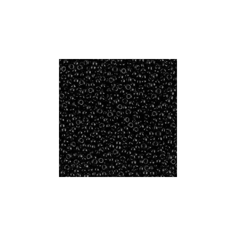 RR-11-401 Musta Miyuki Pyöreä Siemenhelmet 11/0