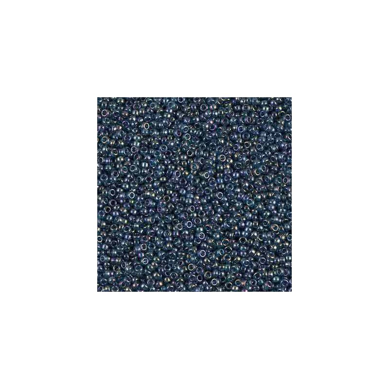 RR-15-305 Montana Blue Gold Luster Miyuki Rond Rocailles 15/0