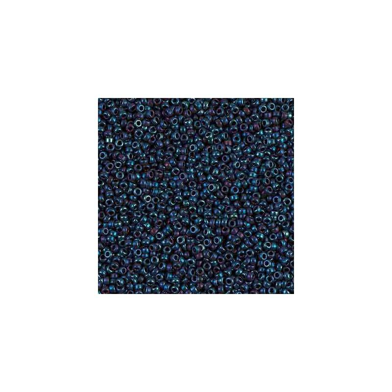 RR-15-1959 Metallic Blue Iris Miyuki Ümmargused Seemnehelmed 15/0