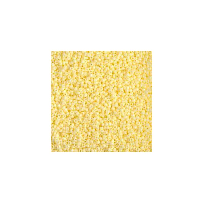 RR-15-4451 Duracoat Opaque Light Lemon Ice Miyuki Круглый Бисер 15/0