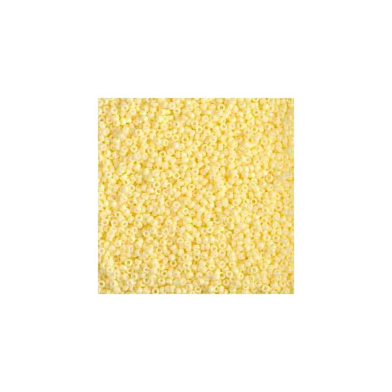 RR-15-4451 Duracoat Opaque Light Lemon Ice Miyuki Rond Rocailles 15/0