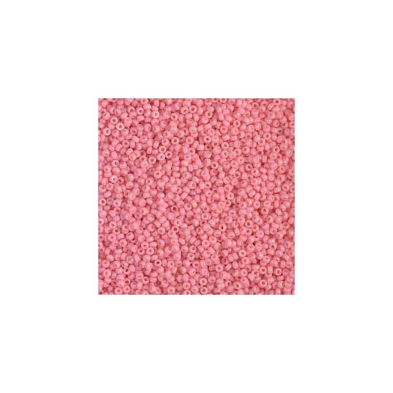RR-15-4463 Duracoat Opaque Pink Miyuki Ümmargused Seemnehelmed 15/0