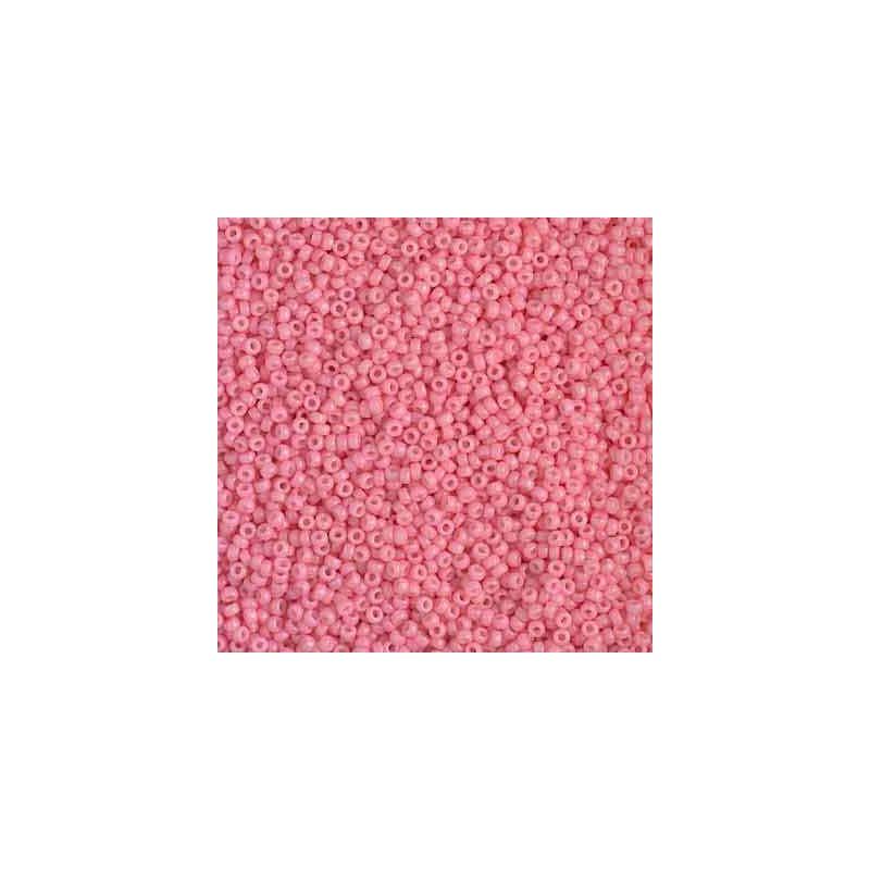 RR-15-4465 Duracoat Opaque Guava Miyuki Round Seed Beads 15/0