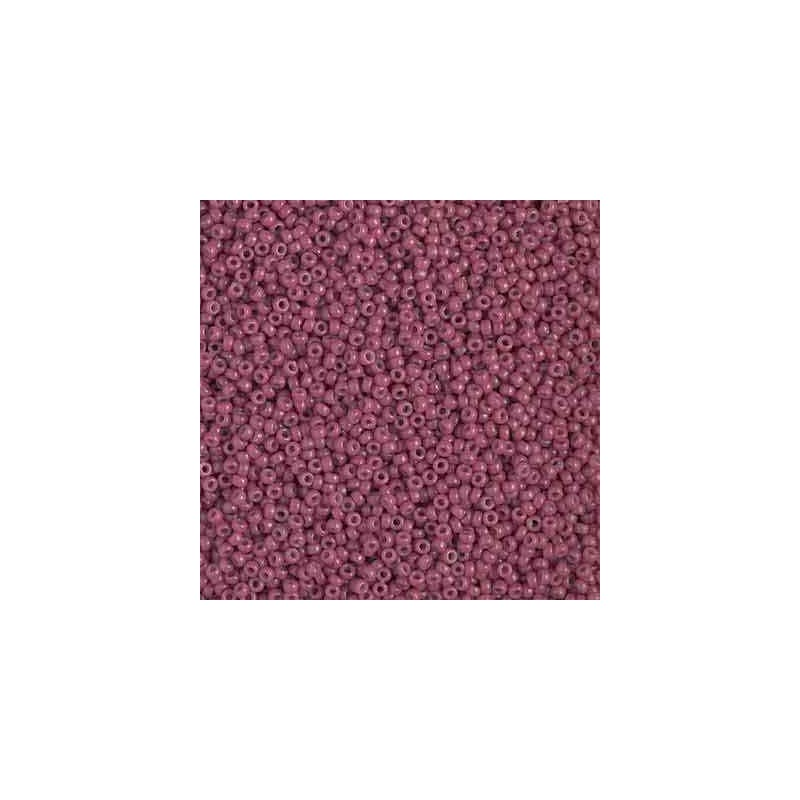 RR-15-4468 Duracoat Opaque Violet Miyuki Round Seed Beads 15/0