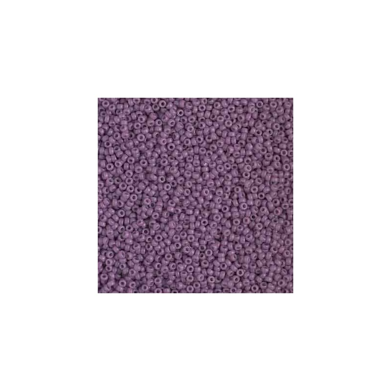 RR-15-4489 Duracoat Opaque Purple Miyuki Круглый Бисер 15/0