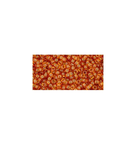 TR-11-2C TRANSPARENT TOPAZ TOHO SEED BEADS
