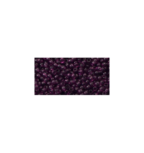 TR-11-6B TRANSPARENT MED AMETHYST TOHO SEED BEADS