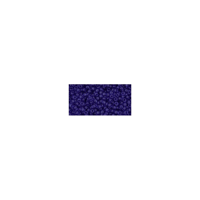 TR-11-8 TRANSPARENT COBALT TOHO SEED BEADS
