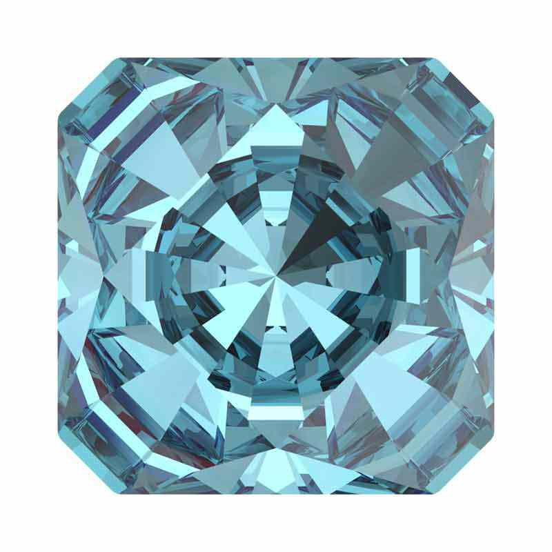 10mm Aquamarine F Kaleidoscope Square 4499 Swarovski