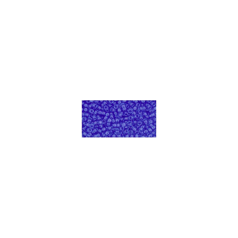 TR-11-942 TRANSPARENT SAPPHIRE SEED BEADS