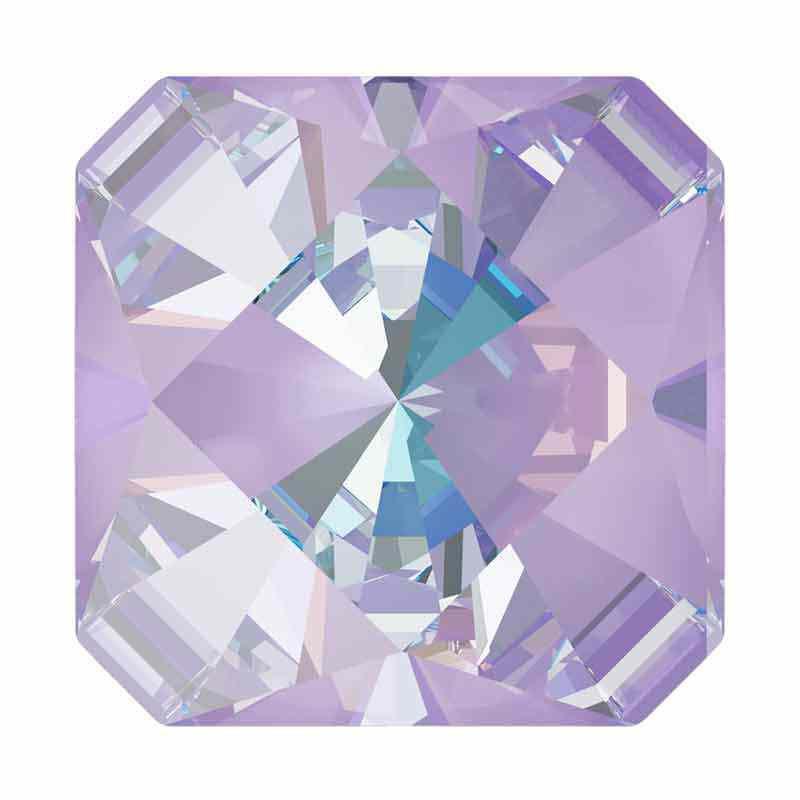 10mm Lavender DeLite Kaleidoscope Square 4499 Swarovski