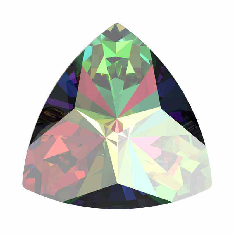 14x14.3mm Vitrail Medium F Kaleidoscope Triangle 4799 Swarovski