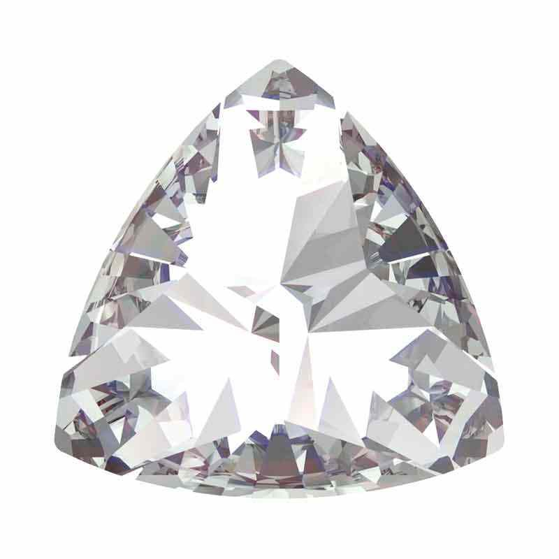 9.2x9.4mm Crystal F Kaleidoscope Triangle 4799 Swarovski