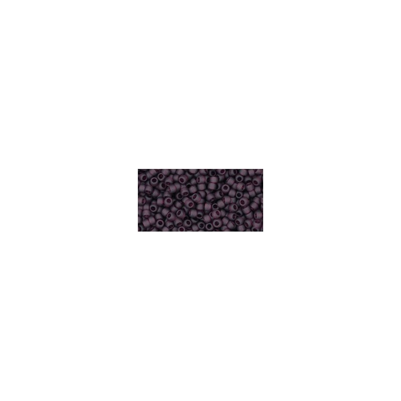 TR-11-6CF TRANSPARENT-FROSTED AMETHYST TOHO SEED BEADS