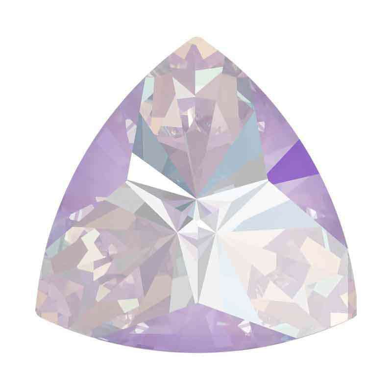 9.2x9.4mm Lavender DeLite Kaleidoscope Triangle 4799 Swarovski