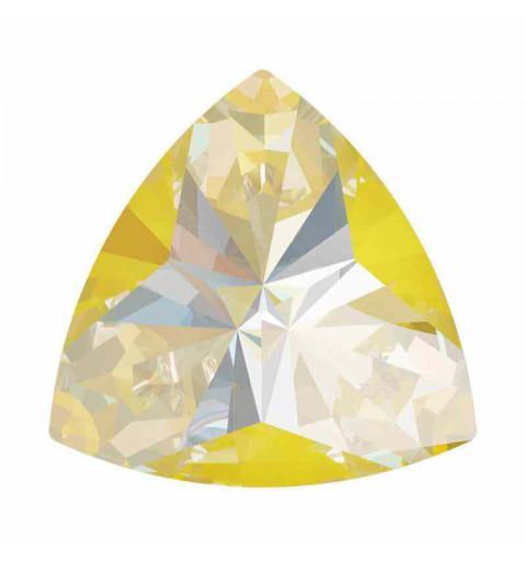 14x14.3mm Sunshine DeLite Kaleidoscope Triangle 4799 Swarovski