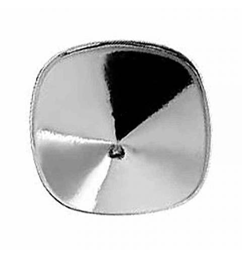 Cushion Square 4470 10mm Swarovski Silver Lever back with setting