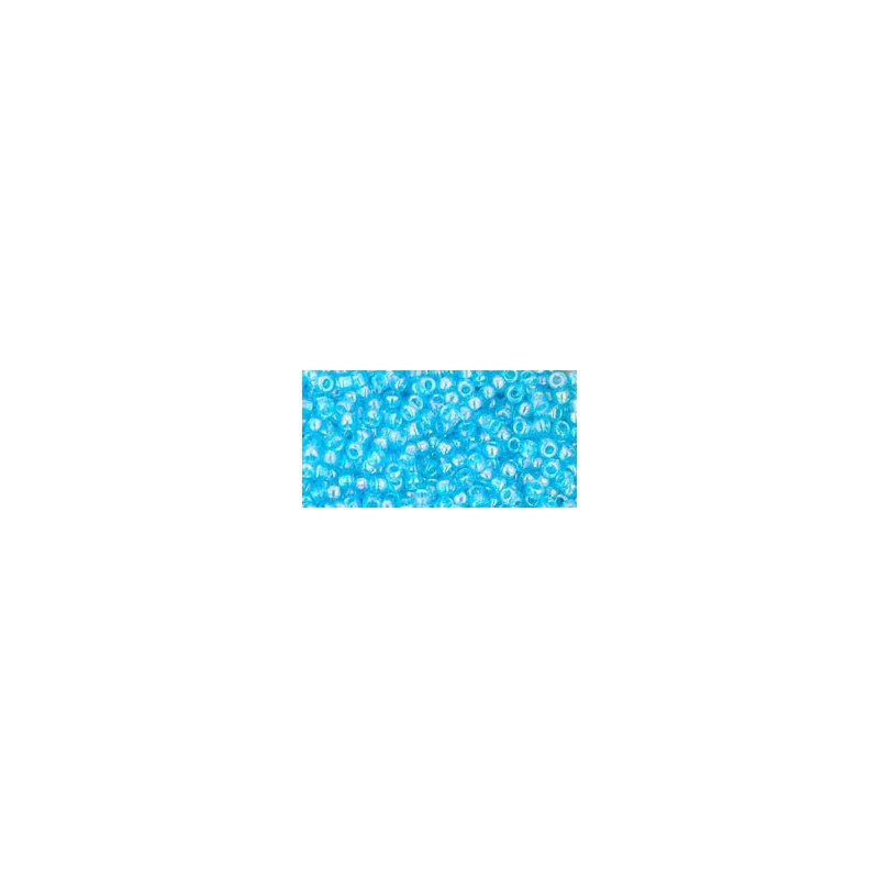 TR-11-163 TRANSPARENT-RAINBOW AQUAMARINE TOHO SEED BEADS