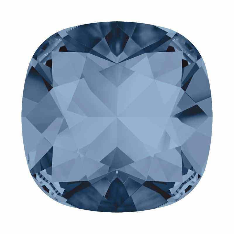 12mm Denim Blue F le Coussin Fancy Cristal 4470 de Swarovski