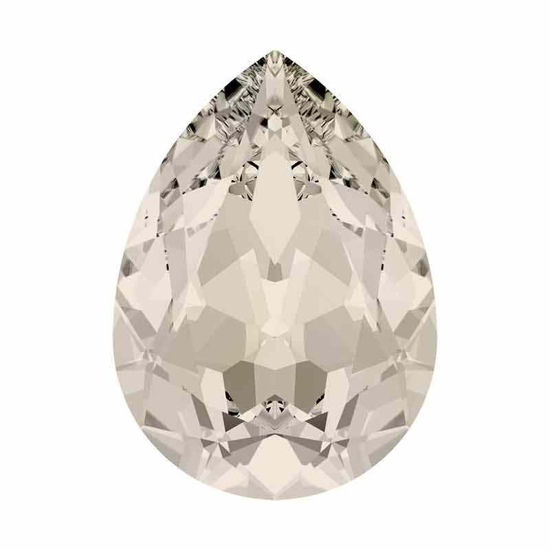10x7mm Moonlight Poire Fancy Cristal 4320 de Swarovski Cristal