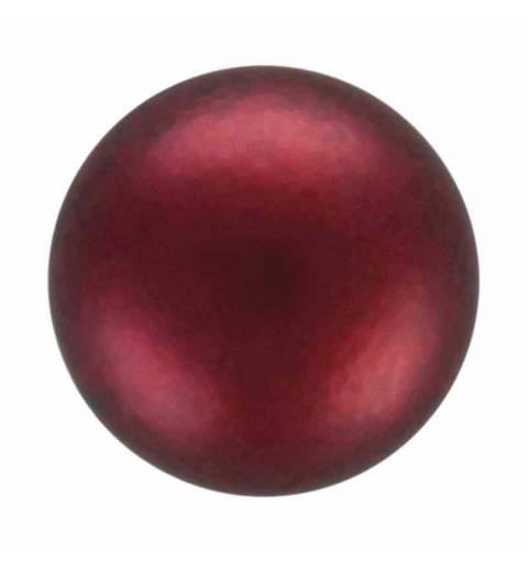 5MM Bordeaux Pärlmutter Ümmargune MXM Pärl Preciosa