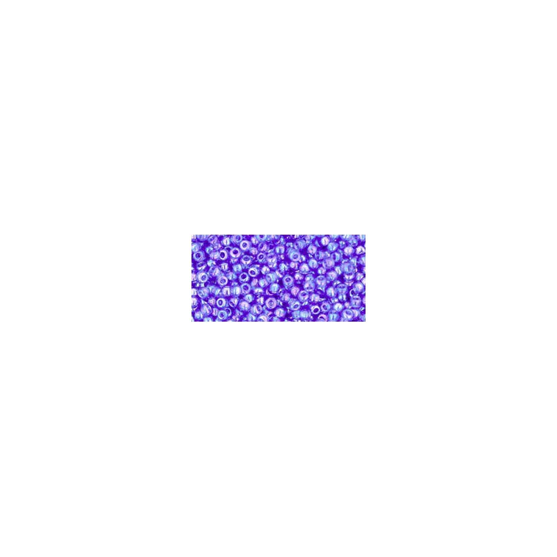 TR-11-178 TRANSPARENT-RAINBOW SAPPHIRE SEED BEADS