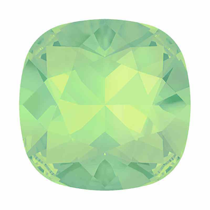 12mm Chrysolite Opal F Cushion Square Fancy Stone 4470 Swarovski