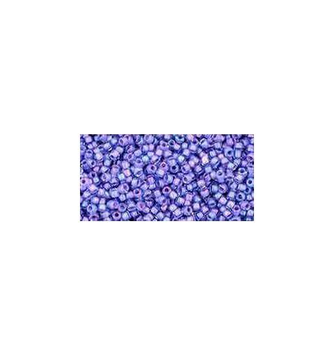TR-15-934 Inside-Color Lt Sapphire/Opaque Purple-Lined TOHO Seemnehelmed