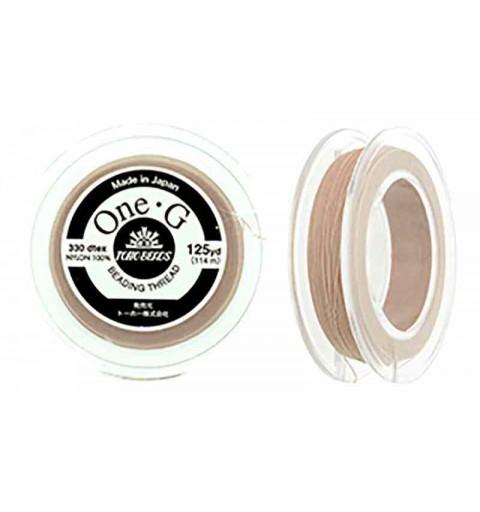 Beige TOHO One-G Beading Thread Bobbin 114.3m (125yd) long