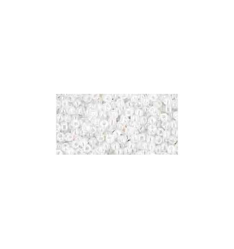 TR-11-141 Ceylon Snowflake TOHO Seed Beads